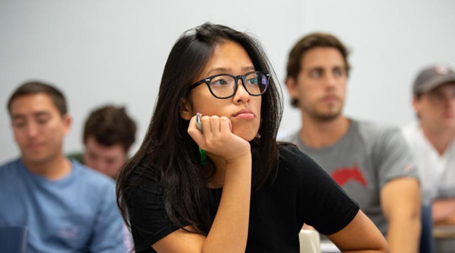 economics student